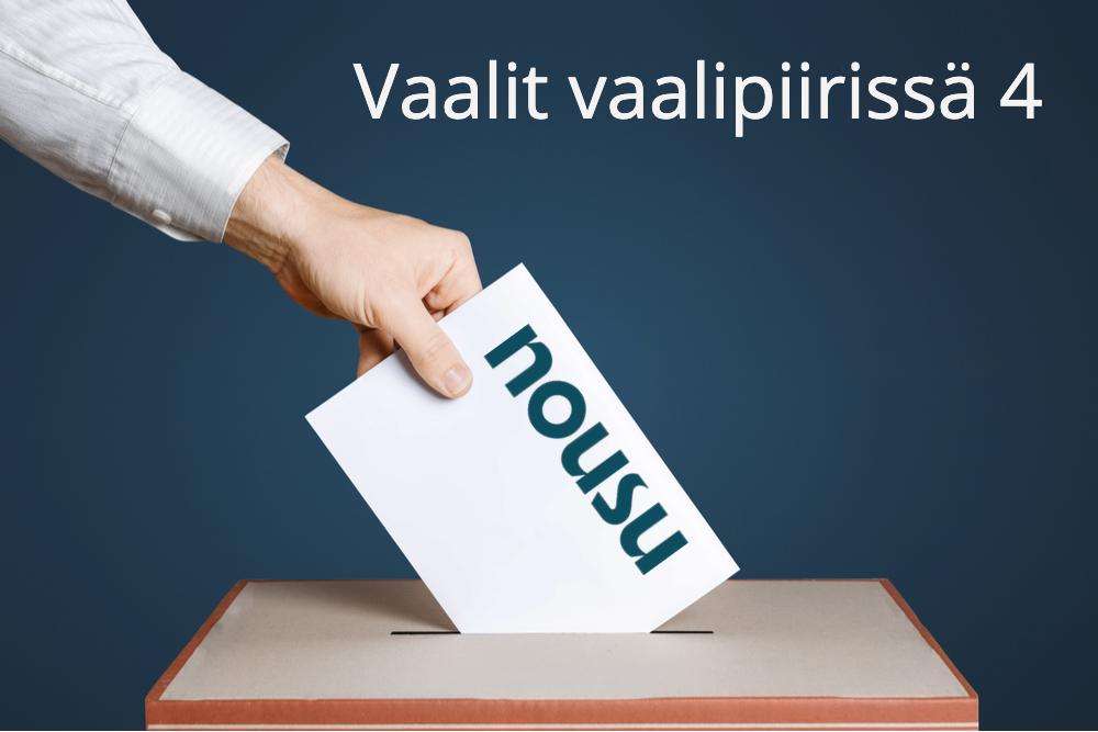 Edustajistovaali – vaalit vaalipiirissä 4